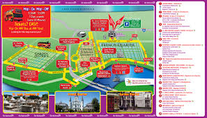 New Orleans Street Map City Sightseeing New Orleans Hop On Hop Off Hotels Of The