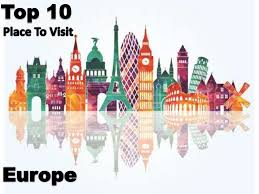 A S Top 10 Must by Top 10 Must Visit Cities In Europe 2016 Visual Ly