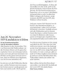 Musterk Hen Svp Wohlen Anglikon Wahlen 26 11 2017