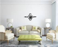 modern design luxury mirror wall art clock decal 3d best wall