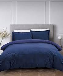 royal blue luxury french velvet duvet cover set zulily