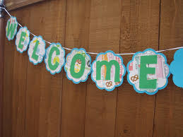 lovely design welcome home banner ideas beautiful decoration