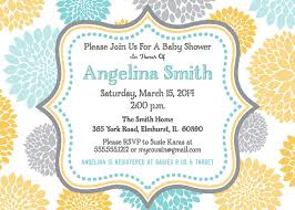 yellow and gray baby shower yellow gray baby shower bridal shower invitation chevron
