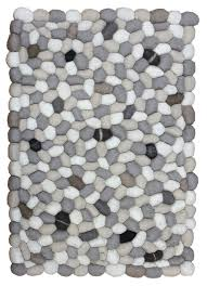 Grey Modern Rugs 3 D Rugs Rugs Of Felt Stones Landry Arcari