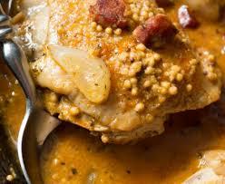 cuisiner des filets de poulet filets de poulet à la moutarde et à la crème recette de filets de