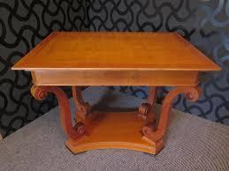 Cherry Wood Coffee Tables For Sale Veneered Coffee Table In Cherry Wood 1900s For Sale At Pamono