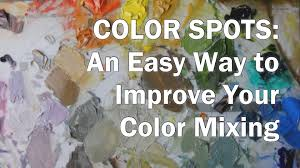 oil painting workshop 2 how to mix colors demonstration color