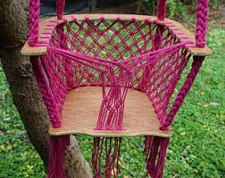 macrame hammock etsy
