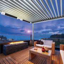 Louvered Patio Roof Opening And Closing Patio Roof U0026 Pergola Louvered U0026 Louvered Patio