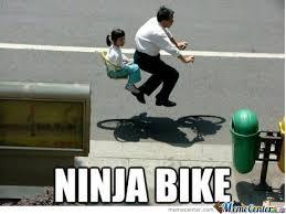 Funny Bike Memes - ninja bike by recyclebin meme center
