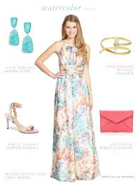 dress for the wedding printed maxi dress
