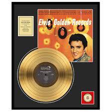 gold photo album elvis golden records framed gold album display