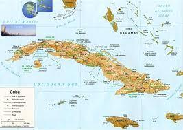 Us Physical Map Cuba Physical Map U2022 Mapsof Net