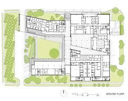 Ground Floor Plan Gallery Of L B Landry High Eskew Dumez Ripple 10