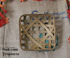 reproduction tobacco basket for christmas gift versatile home