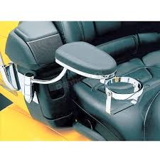 kuryakyn chrome black passenger armrest 8991 motorcycle goldwing