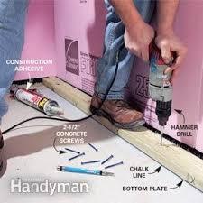 Basement Floor Insulation Must Framing Basement Walls Sui Xue Site