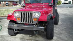 jeep islander yj jeep wrangler yj 4 0 changing the air filter youtube