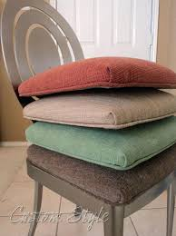kitchen chair cushions with ties sensational dining decorating