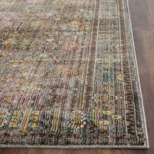 Rugs Safavieh Grey Floral Design Area Rug Safavieh Transitional Rugs