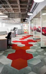 chic paint colors commercial office space love the wall tile