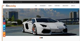 Catalog Car Catalog Automotive Website Template