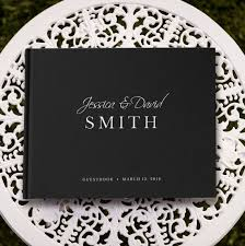 black wedding guest book 130 best wedding guest books images on