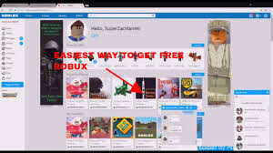 how to get free robux no human verification best way 2017 youtube