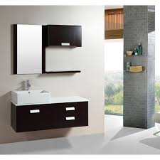 kokols 51 5 inch wall mount espresso finished floating bathroom