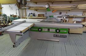 sliding table saw for sale felder sliding panel saw shaper combo used machine for sale