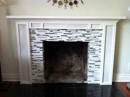 glass tile fireplace binhminh decoration