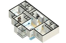 Antebellum Floor Plans by 3 Bedroom Apartment Floor Plans U0026 Pricing U2013 Wellington At Chenal