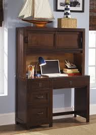 Student Desk With Hutch Creek Student Desk Hutch In Rustic Brown Finish By Liberty