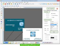 Creating Business Card Business Card Design Software Create Business Visiting Card