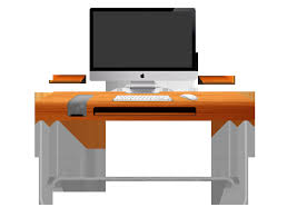 Perfect Creative Office Desk Designs E For Inspiration Decorating - Creative ideas home office furniture