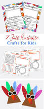 7 fall printable crafts for kids