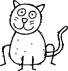 cats coloring page clipart clip art library