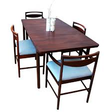 mid century large rosewood extending dining table by tom robertson