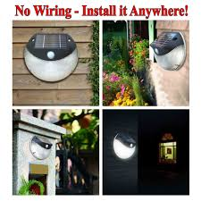Solar Cattail Lights Costco by 35 Off Solar Powered Outdoor Security Light Wireless Wall Motion