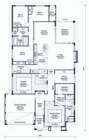 Four Bedroom Bungalow Floor Plan Single Storey 4 Bedroom House Floorplan With Additional Rumpus