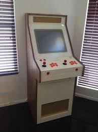arcade en bois 2 players mini arcade concept gaming arcade games and retro arcade
