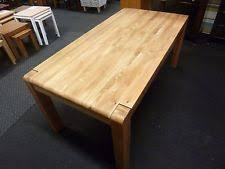 oiled oak dining table panama solid oak furniture 180cm extending dining table ebay