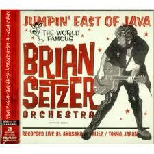 brian setzer jumpin east of java japanese promo cd album cdlp