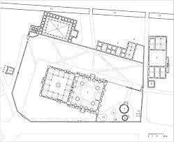 floor plan of a mosque şehzade külliyesi floor plan of sehzade complex archnet