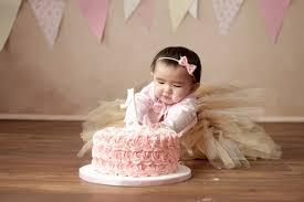 babys birthday toronto year baby photography cake smash