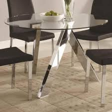 large glass dining room table dinning round glass dining table modern dining table dining room