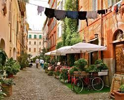 Roman Bathroom Accessories by Trastevere Rome Photography Italy Photograph Print Roman
