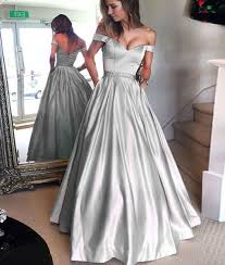 formal dresses best 25 silver formal dresses ideas on formal prom