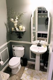 Powder Room Decorating Ideas Contemporary Paint Color Valspar Wet Cement Love All Of This Except The