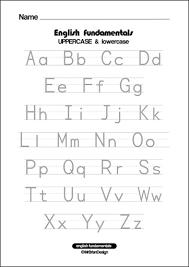 uppercase letter tracing worksheets worksheets
